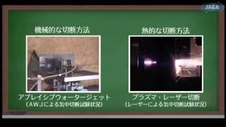 ふげんの廃止措置の現状と福島への応用」