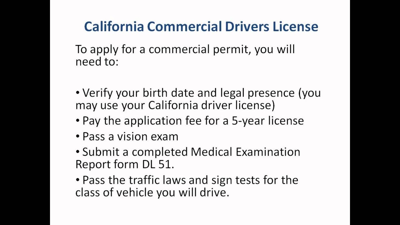 California commercial drivers license cdl in ca youtube california commercial drivers license cdl in ca xflitez Gallery