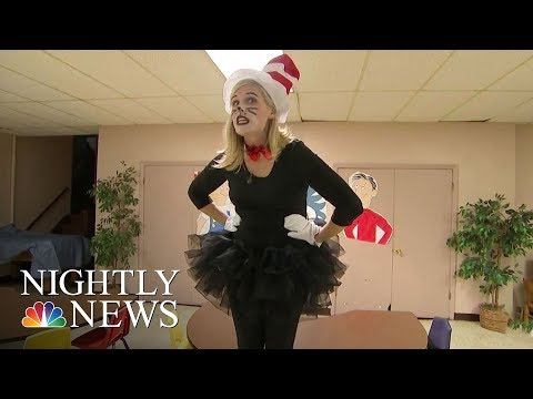 'Cat In The Hat' Surprises Children In Need With Birthday Parties | NBC Nightly News