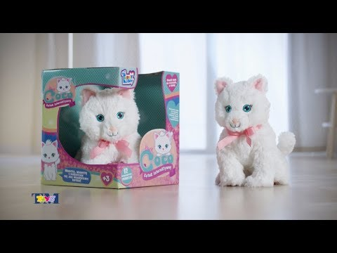 Coco Interaktywny Kotek Tm Toys Youtube