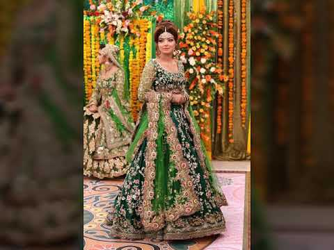 6478e9e2e7f4 Mehndi dresses for bridles by kashee's bridle boutique dresses 2017 ...
