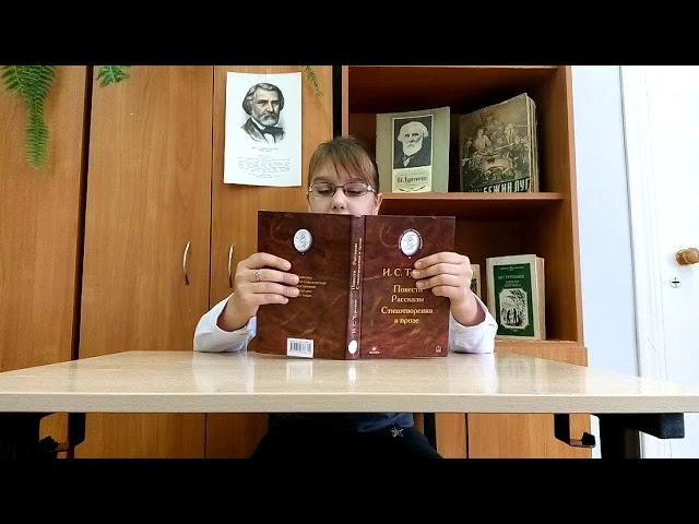 Изображение предпросмотра прочтения – ДарьяУльева читает произведение «Без гнезда» И.С.Тургенева