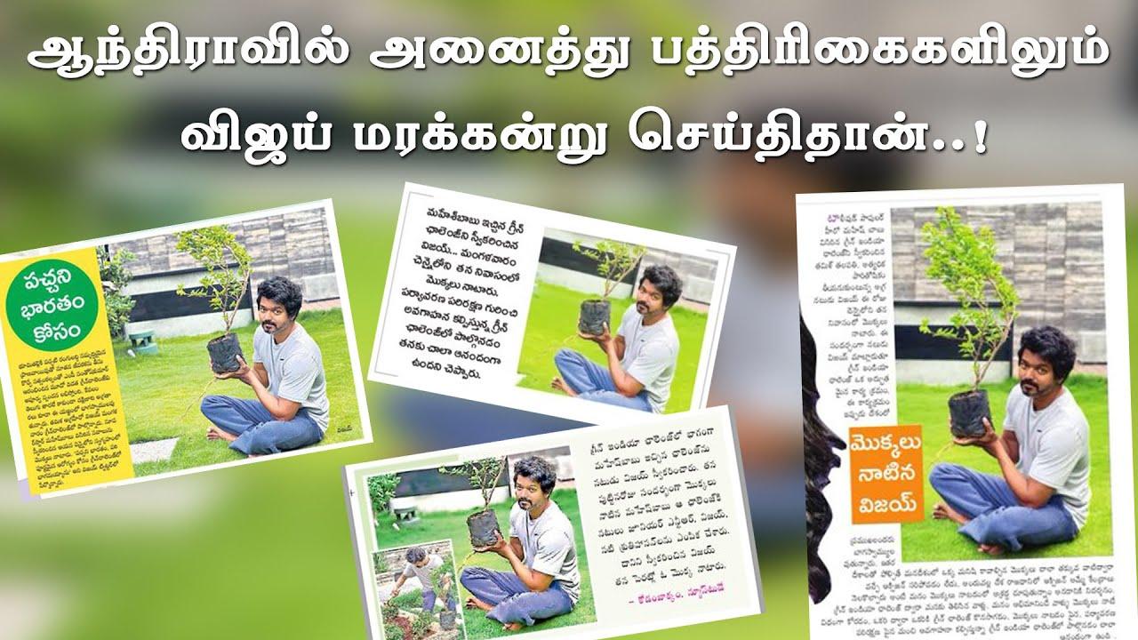 Vijay Plant Sampling News Trending in Telugu Industry     Thalapathy & Mahesh Babu     Andhra Fans