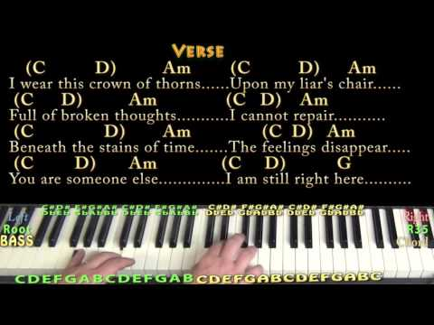 Hurt Piano Chords Latest Mp3 Sound