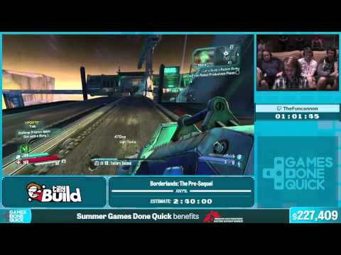 Borderlands: The Pre-Sequel by TheFuncannon in 2:21:39 - Summer Games Done Quick 2015 - Part 39