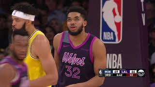 Minnesota Timberwolves vs Los Angeles Lakers | January 24, 2019