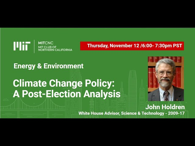 Climate Change Policy: A Post-Election Analysis