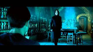 Harry Potter and the Order of the Phoenix - Harry's first occlumency lesson from Snape (HD)
