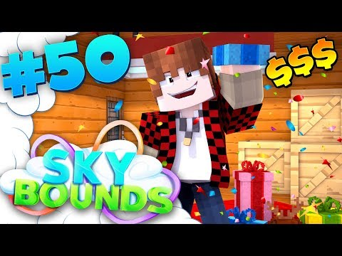 EPIC GIVEAWAY!! | SKYBOUNDS ISLAND #50 (Minecraft SkyBlock SMP)
