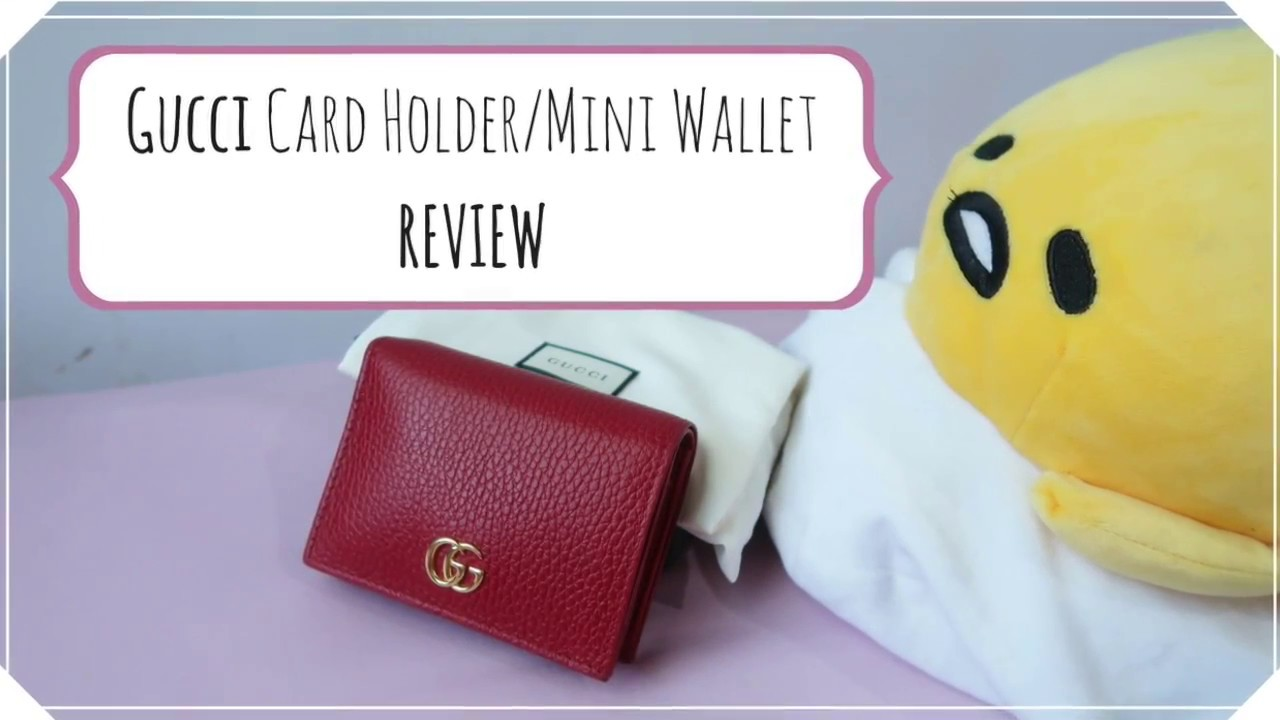 95ff4bcc9590 Gucci Card Case / Compact Wallet Review - YouTube