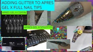 Apres Gel X & Glitter? Wow!!!!