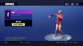"*NEW* ""HULA"" Emote/Dance! - Fortnite: Daily Item Shop [JULY 16th] How To Get FREE SKINS In Fortnite!"