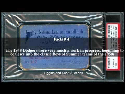 1948 Brooklyn Dodgers season Top # 8 Facts