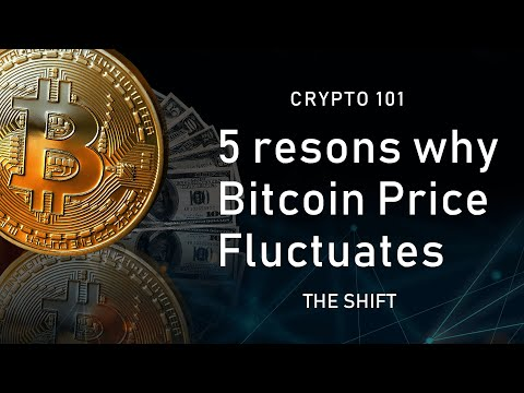 5 Reasons Why #Bitcoin Price Fluctuates