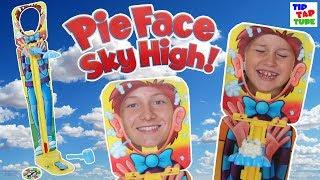 Pie Face Sky High 🎂 die große Sahne Challenge 💥🔨 TipTapTube 😀
