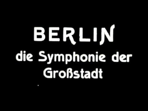 Berlin: Die Sinfonie der Großstadt (Techno Soundtrack added by Pat Vollmer)