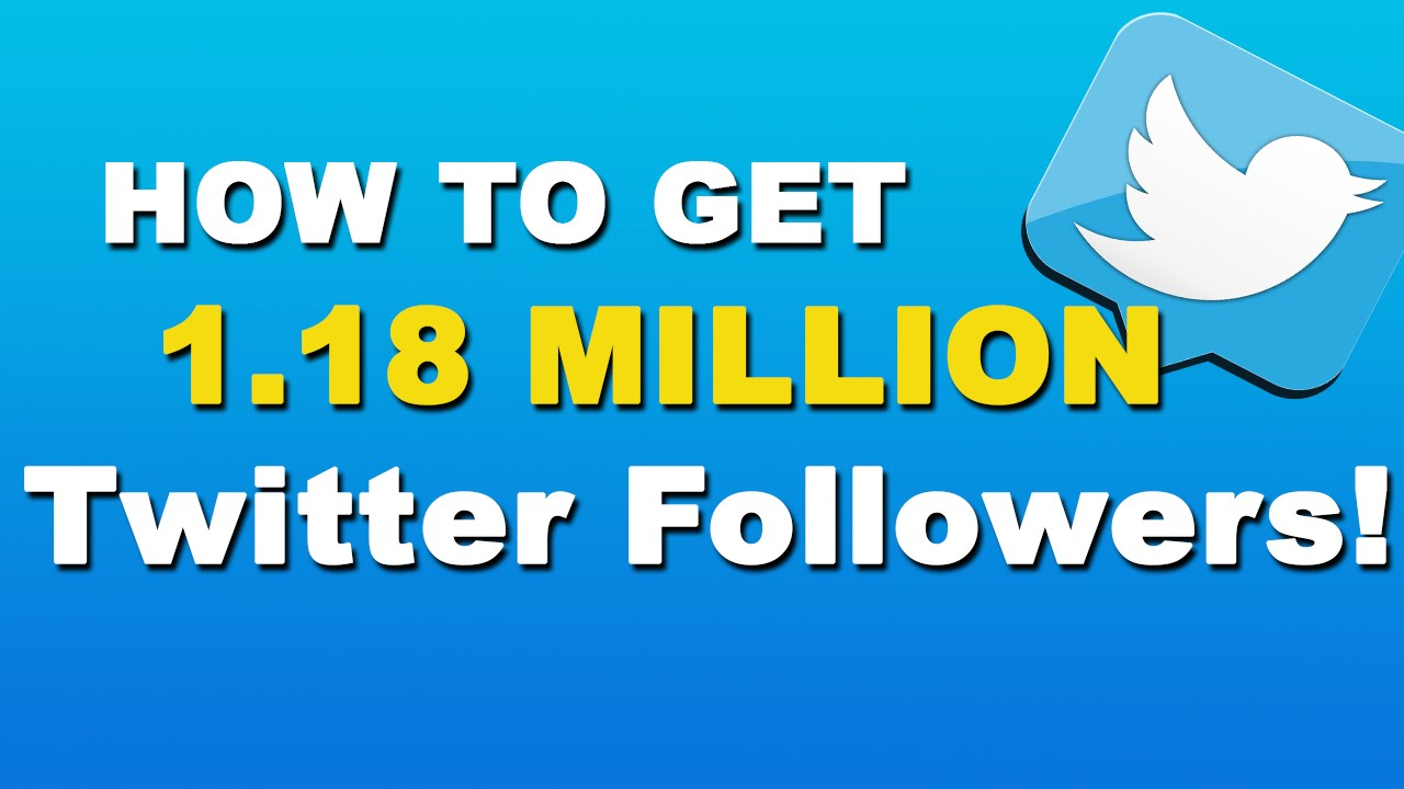 How To Get More Followers On Twitter - Twitter Tutorial 2015