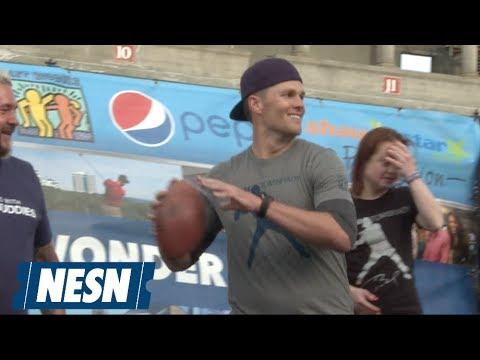 Stars Turn Out At Tom Brady