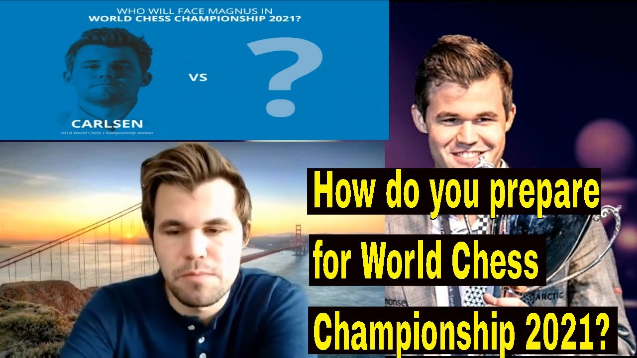 Download Magnus Carlsen prepares for World Chess Championship 2021