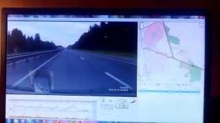 видео регистратор supra 840 G