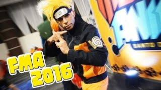 Feria Mundo Anime 2016 ArtTuroStudio HD Cosplay Dominicano