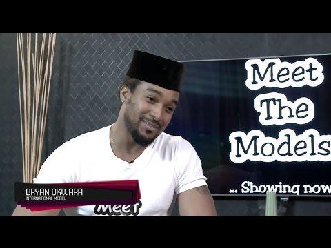 Super Model and Actor, Bryan Okwara on #MeetTheModels
