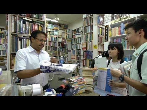 A Second-Hand Book Seller
