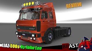 "[""ETS2"", ""Euro Truck Simulator 2"", ""truck mod"", ""LIAZ 300s"", ""by John Lee""]"
