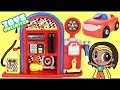 Disney jr mickey mouse roadster racer gas station play set with minnie car mp3