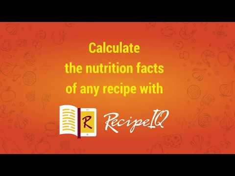 Recipe IQ: Nutrition Calculator - Apps