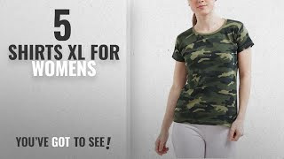 Top 10 Shirts Xl For Womens 2018 WYO Women 39 s Camouflage Army Military Short Sleeve Top Tees T