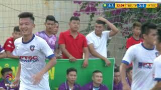 Highlight FC Trẻ TP vs FC PTSC Thanh Hóa [ Vòng 1 TH League S2 2018]