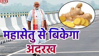 जानिए Modi ने जिस Bridge का inauguration किया उससे कैसे बढ़ेगा Ginger का Business