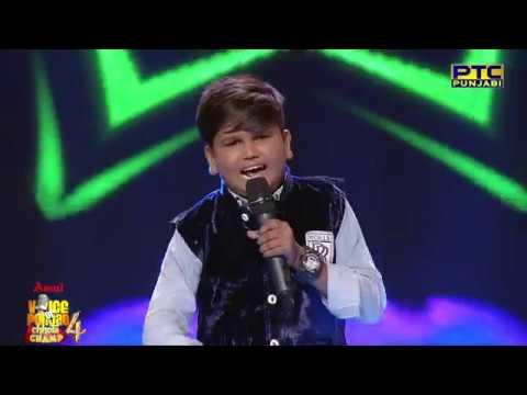 Haricharanpreet | Nachi Jo Sade Naal | Studio Round 07 | Voice Of Punjab Chhota Champ 4