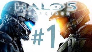 HALO 5 GUARDIANS - Parte 1: Osiris e Blue Team [ Xbox One - Playthrough PT-BR ]