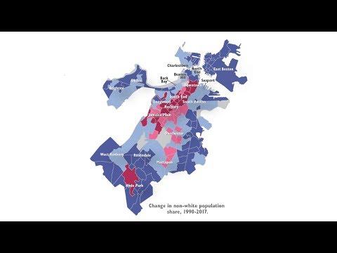 Report Explores Boston Area Population Shift