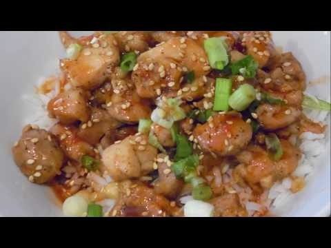 Cooking: Sweet, Spicy, Garlic Chicken~EASY, Fast, Budget Meal Recipe