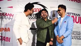 Jassi Gill | Babbal Rai Interview at Gaana Crossblade Music Festival | Jaipur 2019