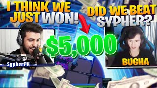 SypherPK & Bugha FACE OFF For $5,000!!! (Fortnite Battle Royale Challenge)
