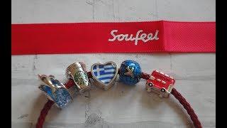 NEW! Крутая ювелирная бижутерия Soufeel - обзор заказа! Travel bracelet :)