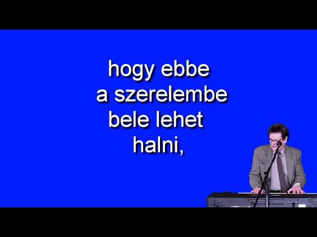 Magyar nóta karaoke Nem tudom az