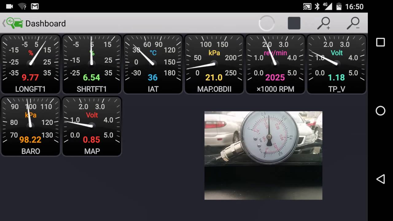medium resolution of map sensor accuracy test 2 ford focus 1 6 16v zetec se