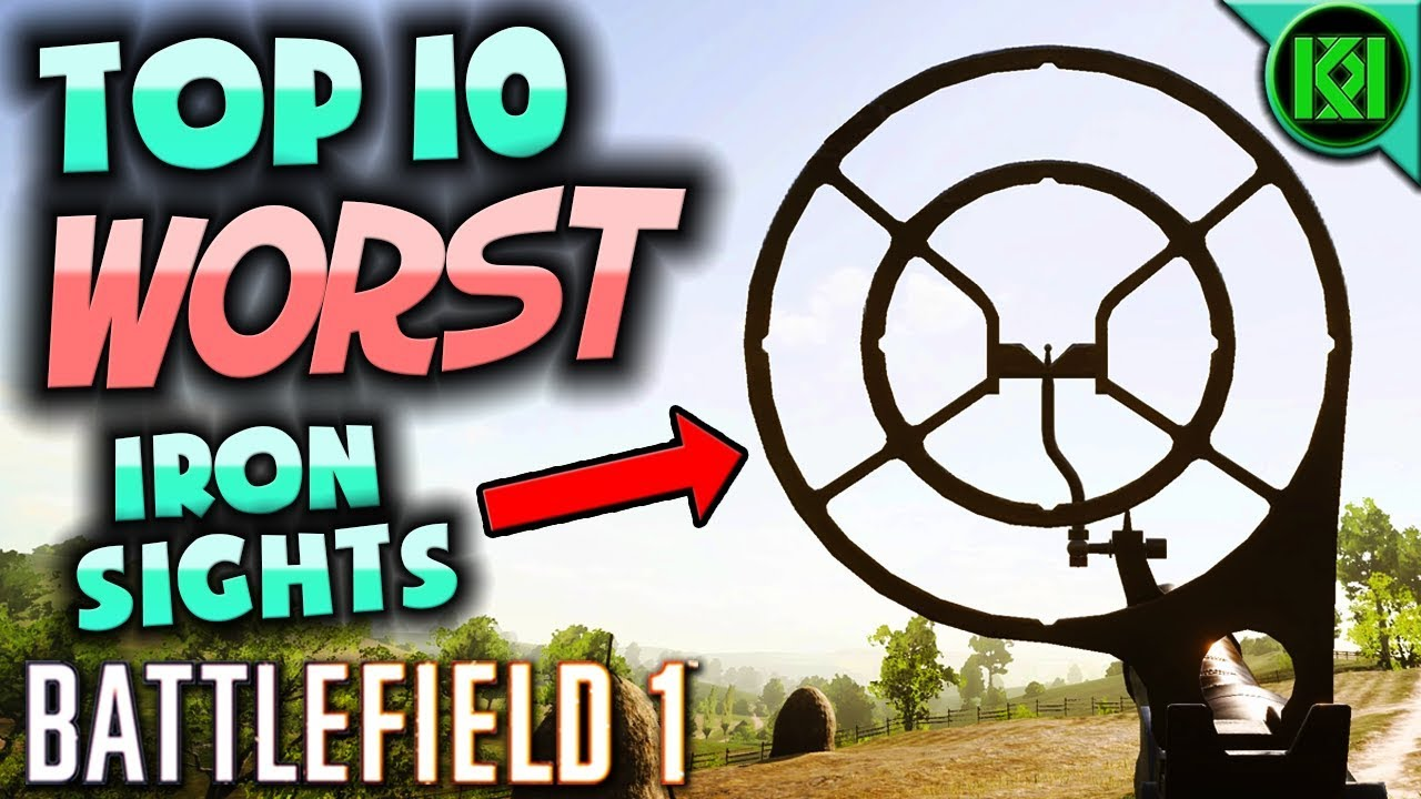 how to use bf1 iron sights