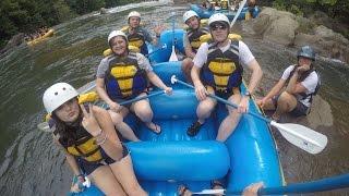 Ocoee River Rafting 2015