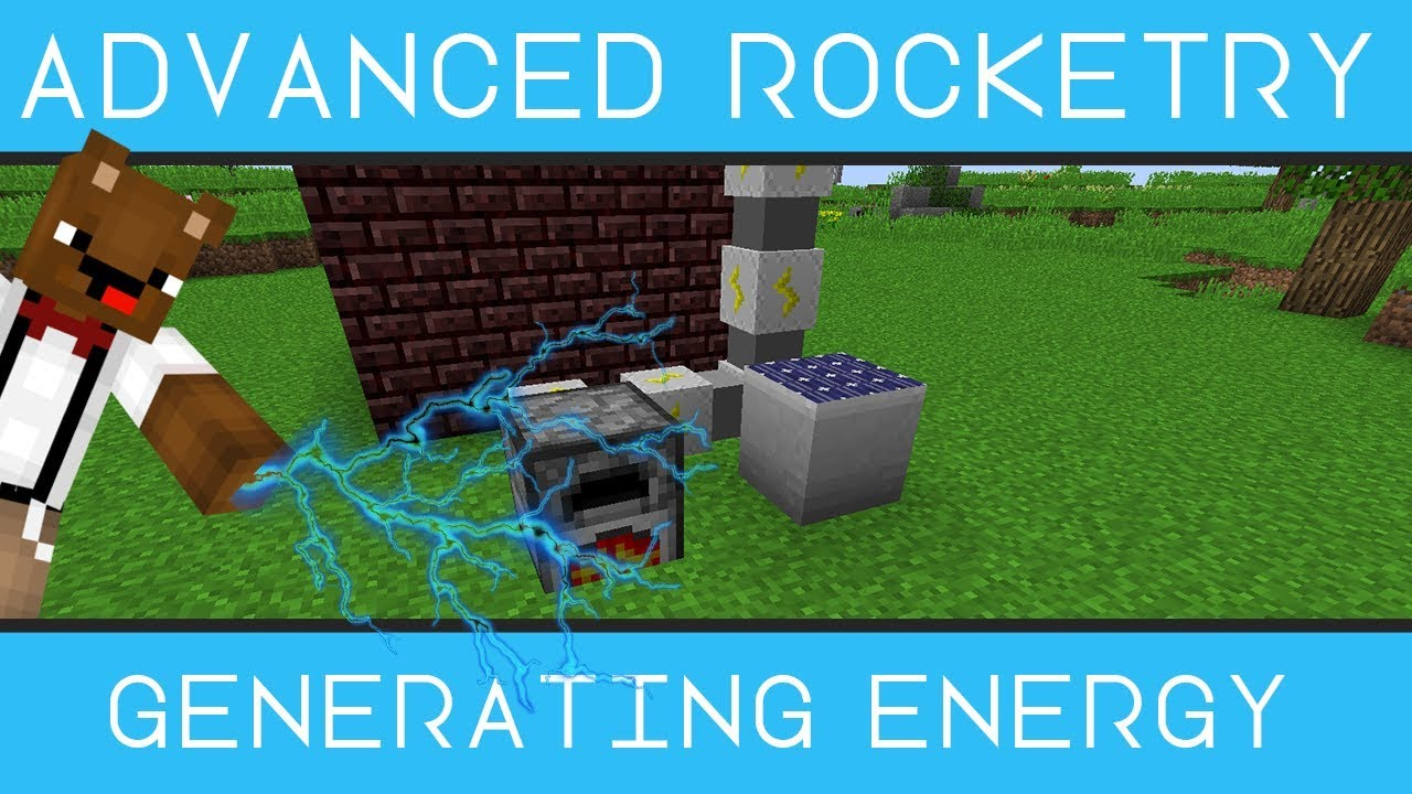 Powering your Machines - Advanced Rocketry [Minecraft 1 10 2] - 2018 - Bear  Games How To