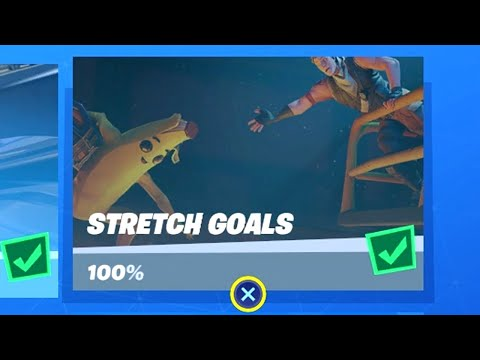 Fortnite All 'Prestige Stretch Goals' Challenges Guide - Chapter 2 Season 1