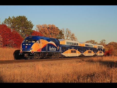 Minnesota NorthStar Trains 10/15/2014