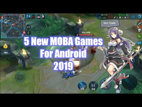 5 New MOBA Games For Android 2019 / Best Game