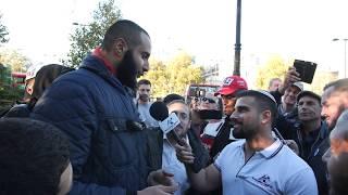 Daring Jew Avi Yemeni Confronts