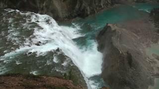 八字形隧道及Wapta瀑布影片20100926-1